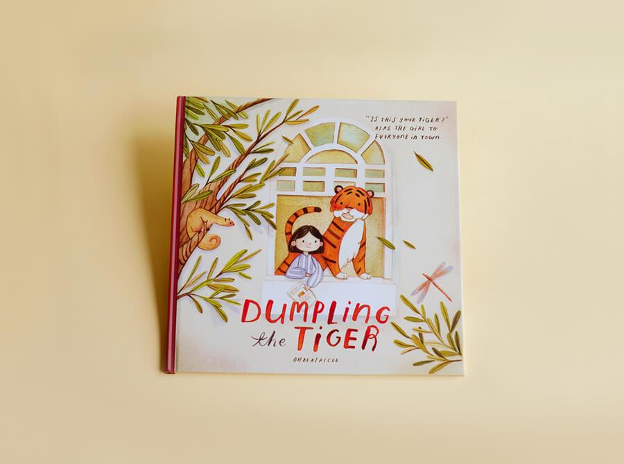 Dumpling the Tiger
